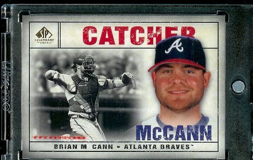 2008 SP Legendary Cuts # 90 Brian McCann (Braves) MLB Baseball Trading Card ()