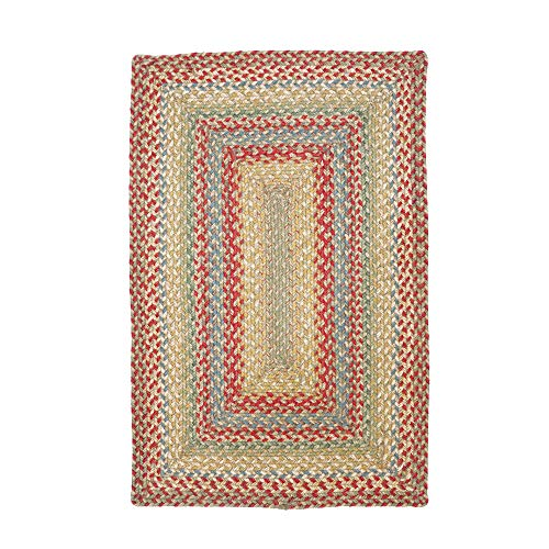 Azalea Premium Braided Jute Rug by Homespice, 2.5' x 6' Rectangle Red Color, Reversible Imported Jute Yarn, Higher Quality, Longer Lasting, Longer Wear - 30 Day Risk Free Purchase