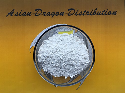 Calcium Chloride Flakes 99% Min. Purity 1lb INDUSTRIAL GRADE by Asian Dragon Distribution