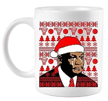 Amazoncom Jordan Crying Meme Ugly Christmas Sweater Design Coffee