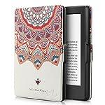 Capa Novo Kindle Paperwhite à prova d'água WB® Ultra Leve Auto Hibernação Fecho Magnético Mandala