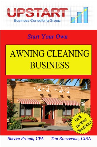 amazon com awning cleaning business ebook steven primm tim
