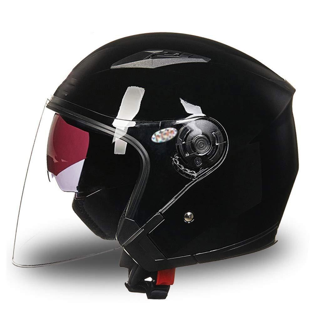 MGIZ 男性と女性の電動自転車オートバイヘルメットハーフヘルメット四季UV保護ヘルメット  StyleA B07Q2XZQVC