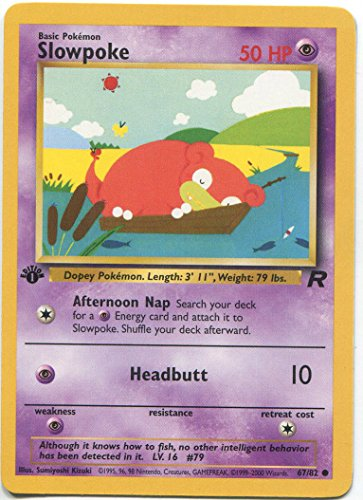 - Pokemon - Slowpoke (67) - Team Rocket - 1st Edition