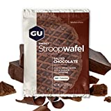GU Energy Stroopwafel Sports Nutrition Waffle, Gluten Free Salted Chocolate, 16-Count