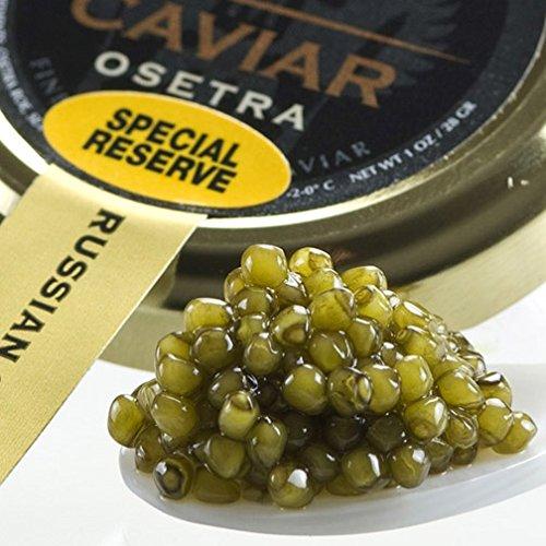 Osetra Special Reserve Russian Caviar - Malossol, Farm Raised - 0.50 Oz Jar ()