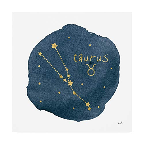 Trademark Fine Art Horoscope Taurus by Moira Hershey, 14x14, ()
