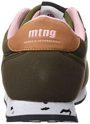 MTNG Attitude 56406 - Zapatillas para mujer Verde (Raspe Kakhy/Nylon Kakhy)