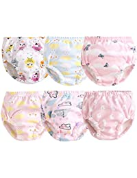 Cotton Reusable Toddler Baby Training Pants 6-Pack