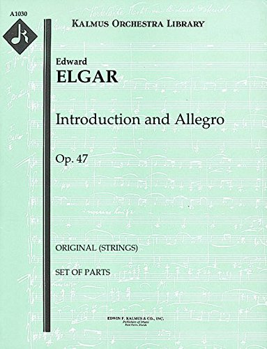 (Introduction and Allegro, Op.47 (Original (strings)): Set of Parts)