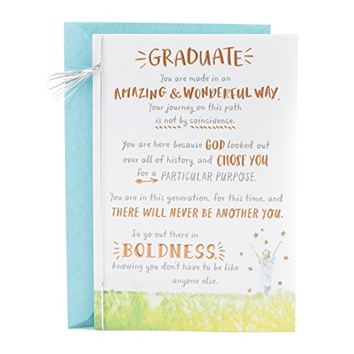 DaySpring Religious Graduation Card (There Will Never Be Another You)]()