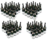 Nicky Bigs Novelties 96 Mini Champagne Bottles Wedding Bubbles New Years Eve Graduation Party Favors