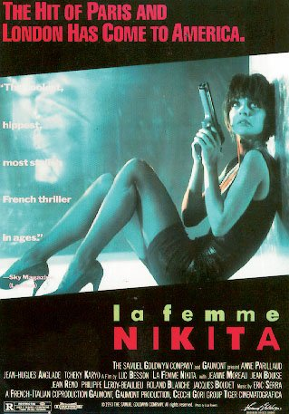 La Femme Nikita - French Movie Poster By Stop Online