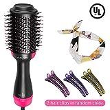 One Step Hair Dryer & Volumizer, Hot Air Brush, 3-IN-1 Negative lon Electric