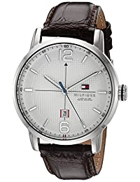 Tommy Hilfiger Men's 1791217 George Analog Display Japanese Quartz Brown Watch