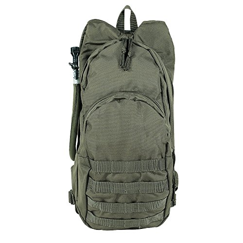 - VooDoo Tactical Men's MSP-3 Expandable Hydration Pack with Universal Straps, Olive Drab