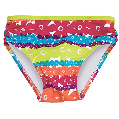 Sun Smarties Rainbow Swim Bottoms for Little Girls, Size 7-8