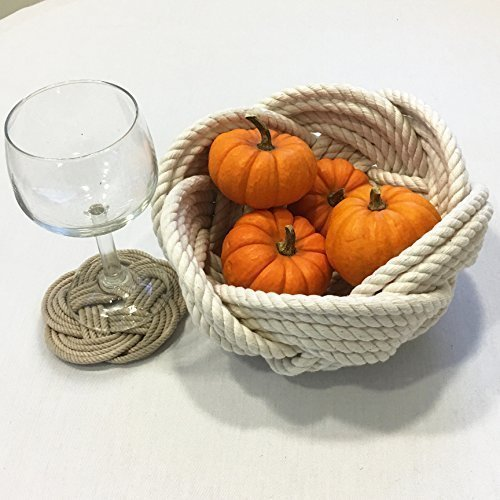 Nautical Rope Cotton Woven Knot Bowl