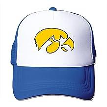 Iowa Hawkeyes Logo Trucker Hat Unisex Baseball Caps Adjustable Snapback One Size RoyalBlue