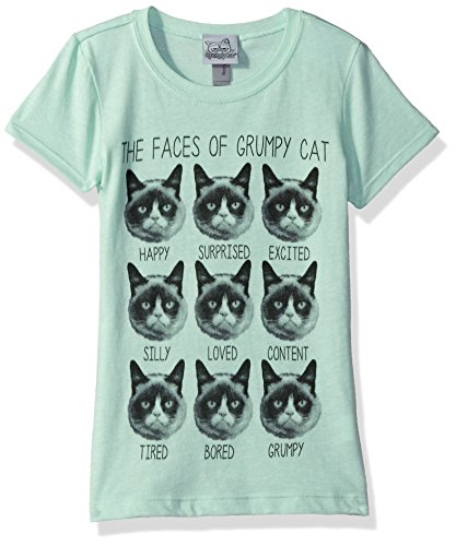 Grumpy Cat Girls Graphic T Shirt product image