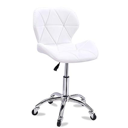 Magnificent Amazon Com Dulplay Pu Leather Bar Stools Swivel Stool With Creativecarmelina Interior Chair Design Creativecarmelinacom