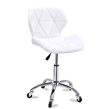 Superb Amazon Com Dulplay Pu Leather Bar Stools Swivel Stool With Pdpeps Interior Chair Design Pdpepsorg