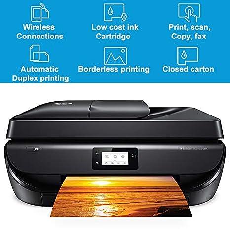 TANCEQI Impresora Color De Inyección De Tinta, WiFi Bluetooth De ...