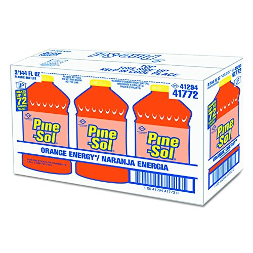Pine-Sol 41772CT All-Purpose Cleaner, Orange, 144oz Bottle (Case of 3) by Clorox (Image #1)