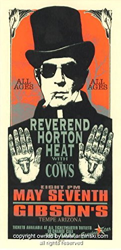 1996 Reverend Horton Heat Concert Poster by Arminski (MA-9615)