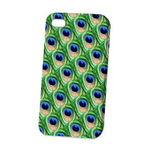 Case Fun Apple iPhone 4 / 4S Case - Vogue Version - 3D Full Wrap - Peacock
