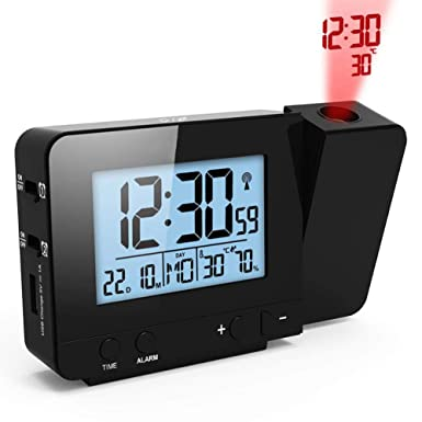 projection alarm clock FJ3531 Projection Alarm Clock Digital Date Snooze