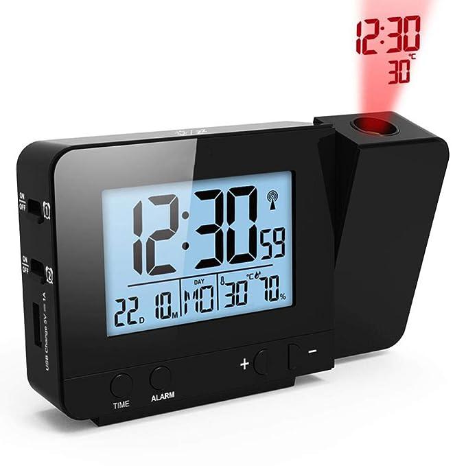 Amazon.com: projection alarm clock FJ3531 Projection Alarm Clock Digital Date Snooze: Clothing