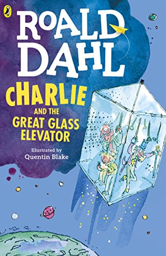 Charlie and the Great Glass Elevator - Willy Wonka White Glasses