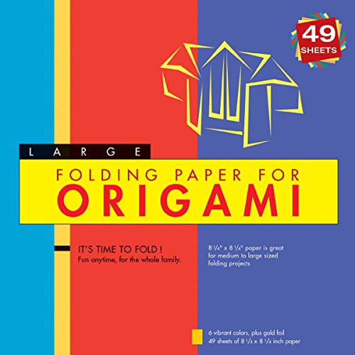 Folding Paper for Origami - Large 8 1/4