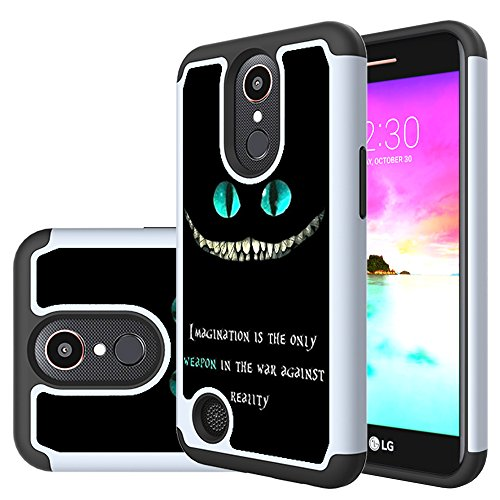 LG K20 V Case, LG K20 Plus Case, LG K10 2017 Case,Yiakeng Shockproof Protection Dual Armor Case Cover for LG K20V / LG Harmony / LG Grace (magination weapon)