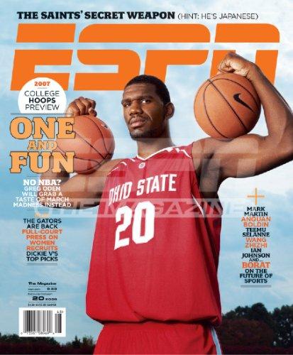 ESPN Magazine - Greg Oden November 2006