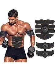 ZHENROG Elettrostimolatore Muscolare Professionale,Elettrostimolatore per Addominali Elettrostimolatore Muscolare ABS Stimolatore Addome/Braccio/Gambe 6 modalità e 10 Livelli di Intensità-Uomo/Donna