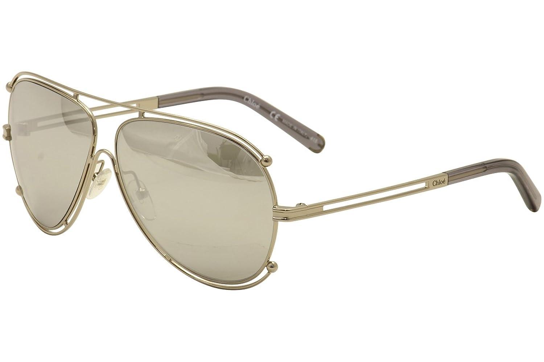 b42c2c2db2e4 Chloe CE121S-744 Ladies CE121S Isidora Gold Sunglasses at Amazon Women s  Clothing store