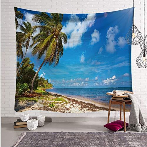 UDstrap Tropical Palm Tree Hojas Tapestry Pared Colgando ...