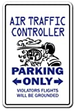 Air Traffic Controller Novelty Sign | Indoor/Outdoor | Funny Home Décor for Garages, Living Rooms, Bedroom, Offices | SignMission airport Wall Plaque Decoration