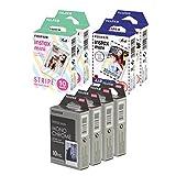 Fujifilm Instax Mini Film Specialty Pack x 8, Multicolor