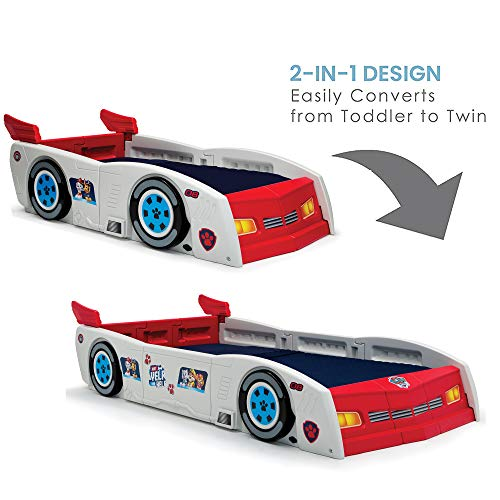 Nick Jr. PAW Patroller Toddler and Twin Car Bed by Delta Children