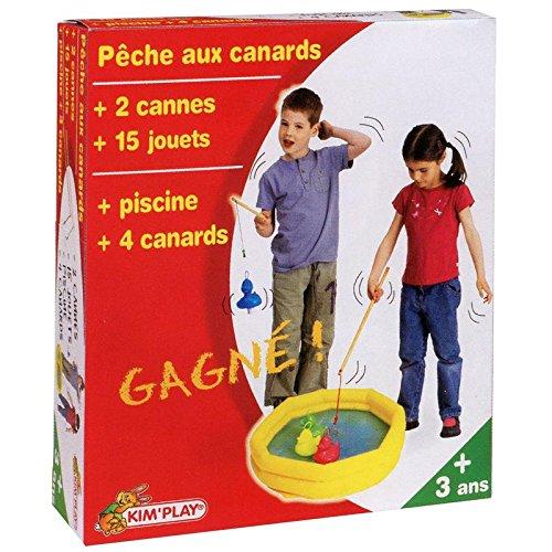Partner Jouet - COU2602 - Décoration - Coffret Kit Pèche Aux Canard