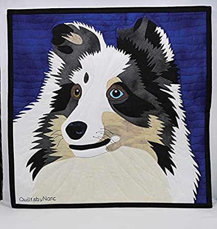 Amazon Shetland Sheep Dog Quilt Pattern By Quilts By Nanc Arts