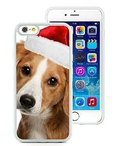 Diy iPhone 6 Case,Christmas Dog White iPhone 6 4.7 Inch TPU Case 10