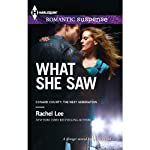 What She Saw: Conard County, Book 31 | Rachel Lee