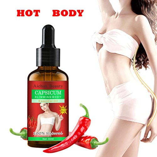 - Hometom Slimming Essential Oil Liquid Weight Loss Product Leg Body Waist Fat Burning (30ml)