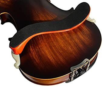Ymc Violin-shoulder-rest-maple-34-44 New Deluxe Maple Wood Violin Shoulder Rest 34 44 Size 5
