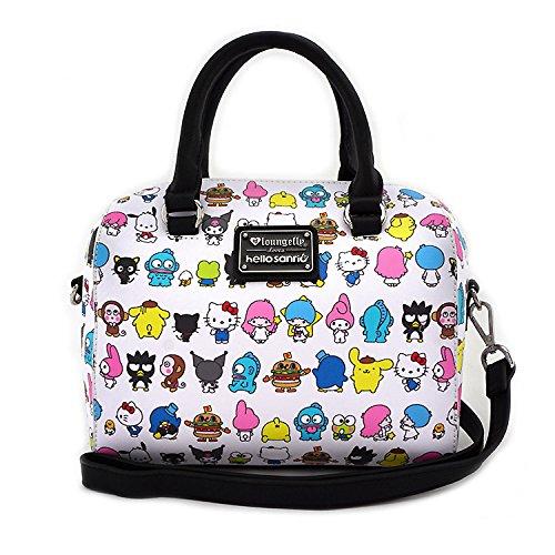 Loungefly x Sanrio Friends Squad Duffle Bag w/ Detachable Strap by Dufflebag