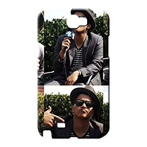 samsung note 2 Slim Style trendy cell phone covers bruno mars cutie